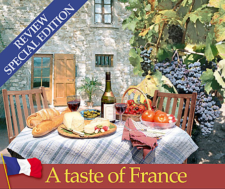 Marketing artwork French food special